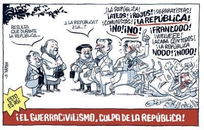 "A GUERRA CIVIL ""CULPA DA REPÚBLICA"" (CLARO!)"